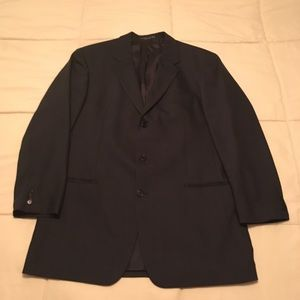 Sz 46 Long Navy blue suit jacket. Hugo Boss.